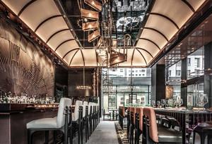 都市有格调的大户型餐厅设计效果图