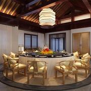 中式大型餐厅展示