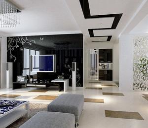 40平米小户型欧式客厅装修效果图实例鉴赏