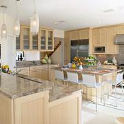 大气优雅原木厨房