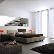 跃层住宅卧室展示