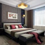 现代卧室窗帘设计