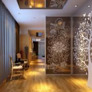 100平米大户型欧式室内唯美玄关装修效果图