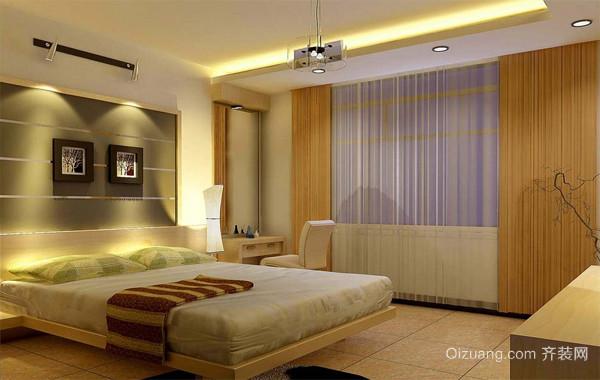 2016完美欧式大户型楼房卧室背景墙装修效果图