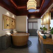 中式卫生间精致装饰