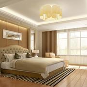 米黄色的卧室展示