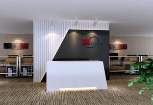2016现代公司精致背景墙设计效果图