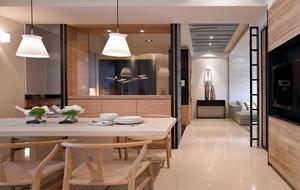 前卫现代化原木餐厅