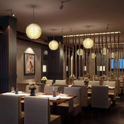 现代温馨餐厅展示