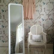 田园风格女生小卧室穿衣镜装修效果图