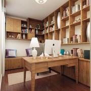 原木小书房设计