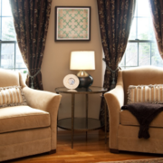 120平米大户型欧式客厅窗帘装修效果图鉴赏