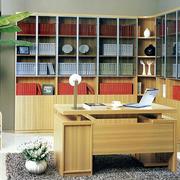 原木现代小书房
