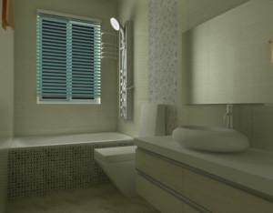 70平米现代欧式小卫生间装修装修效果图鉴赏