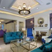 2016大户型北欧风格现代家装客厅装修效果图