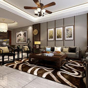 中式大型客厅装饰