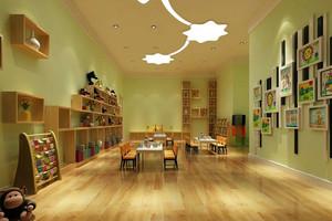 现代大户型幼儿园教室装修设计效果图