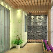 2016极具美感欧式大户型入户花园装修效果图