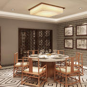 中式餐厅墙面装饰画