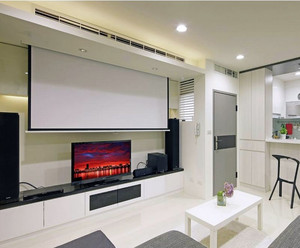 2016简约大户型家庭影院设计装修效果图