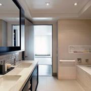 浴室设计背景墙图