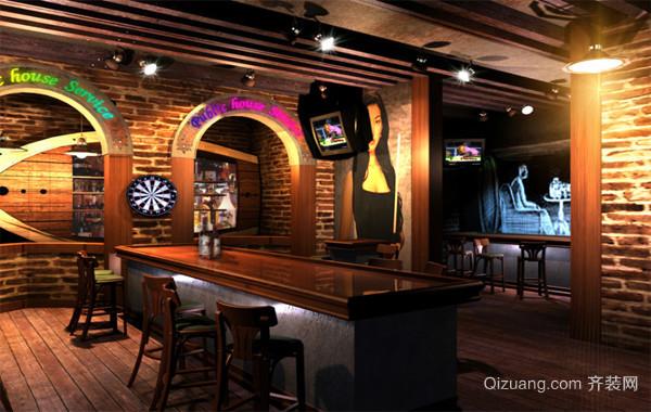 2016都市精美的欧式酒吧装饰设计装修效果图