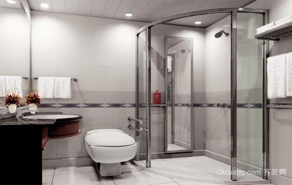 2016经典欧式大户型浴室置物架装修效果图鉴赏