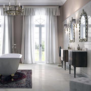 卫生间设计窗帘图