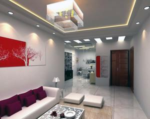 90平米大户型欧式房间客厅背景墙装修效果图