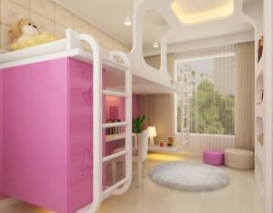 机具动感的现代大户型儿童卧室装修效果图鉴赏