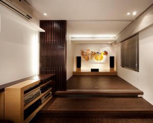 超现代日式风格大户型卧室榻榻米装修效果图鉴赏