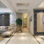 暖色调走廊设计