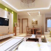 2016欧式大户型客厅电视墙装修设计效果图鉴赏