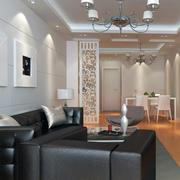 现代室内沙发背景墙