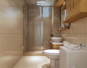 70平米欧式精致的小卫生间吊顶装修效果图