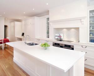90平米大户型唯美欧式开放式厨房装修效