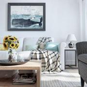 北欧沙发背景装饰画