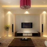 90平米大户型欧式客厅影视墙装修效果图