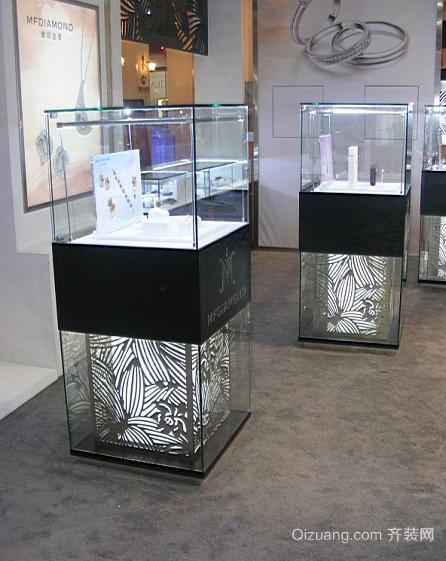 2016都市商场精致的玻璃展示柜装修效果图鉴赏
