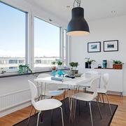 北欧阳台餐桌椅