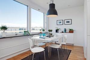 2016都市一居室北欧风格装修效果图