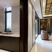 新中式开放式厨房展示