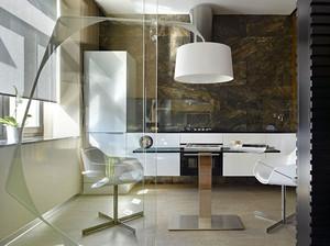 创意清新小户型40平米家居装修效果图