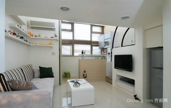 40平米小户型复式都市家居装修效果图