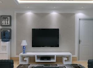 100平米大户型欧式家装客厅电视墙效果图鉴赏