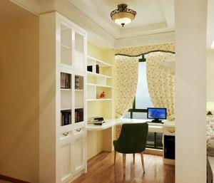 温馨简约小户型40平米家居书房装修效果图