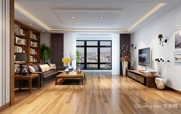 都市100平米家居简约客厅装修效果图欣赏
