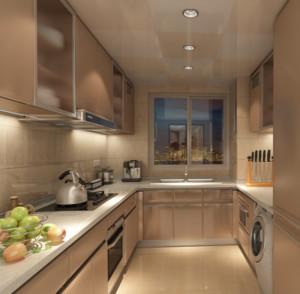 90平米大户型欧式开放式厨房装修效果图实例