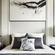 新中式卧室床头展示