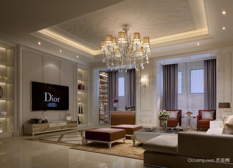 40平米小户型欧式室内装修效果图实例欣赏